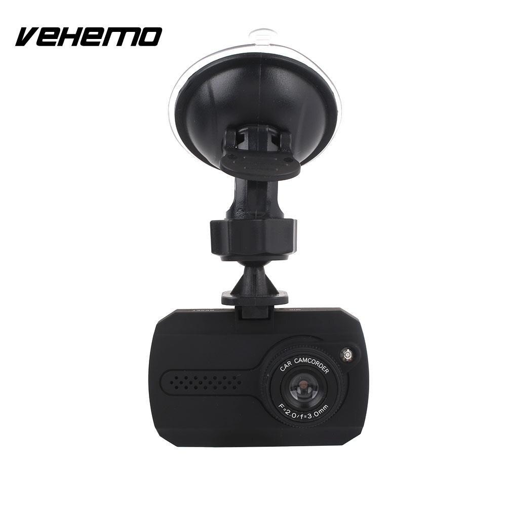 Vehemo 1.5 Inch Dash Cam Night Vision Driving Recorder Portable Car DVR Auto On/Off Automobile