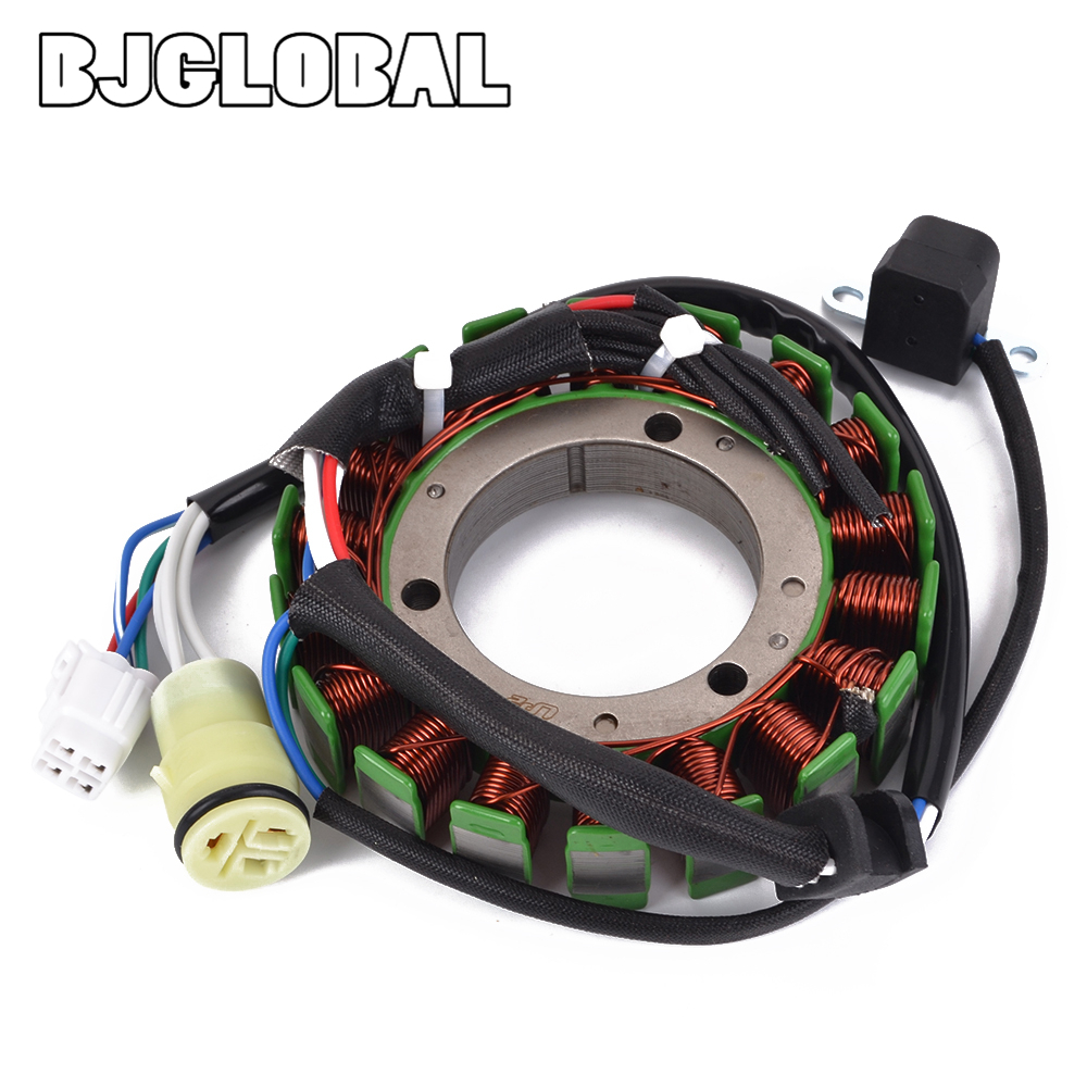 Motorcycle Magneto Stator Coil Generator For Yamaha YFM350X Warrior YFM350R RAPTOR 350 5NF 81410 00 YFM350FX 4x4 Wolverine 350-in Motorbike Ingition from Automobiles & Motorcycles
