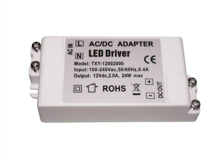 <font><b>DC</b></font> <font><b>12V</b></font> 18W <font><b>1.5A</b></font> <font><b>Power</b></font> <font><b>Supply</b></font> LED Driver Adapter Transformer Switch For LED Strip LED Lights image
