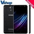 Оригинал DOOGEE X7 3 Г Мобильный телефоны Android 6.0 16ГБ ROM 1ГБ RAM MTK6850 Quad Core 720P 8MP Камера Dual SIM 6.0 дюймов Сотовый Телефон смартфон