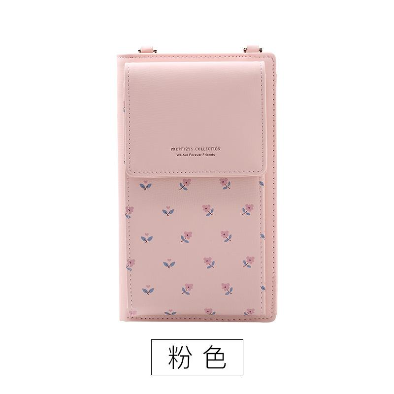 9c5853cd35 Dropwow Fashion Printing Flower Women Wallet Multifunction Phone ...
