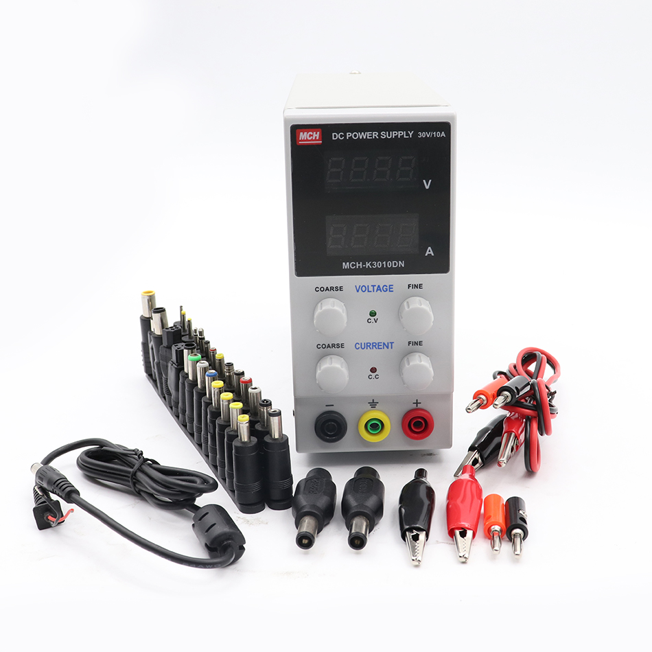 цена на MCH K3010DN Mini DC Power Supply Laboratory Digital Adjustable Regulated DC Switching Power Supply 30V 10A
