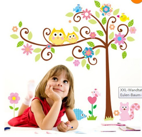 Removable wall stickers children's room Baby Nursery ...