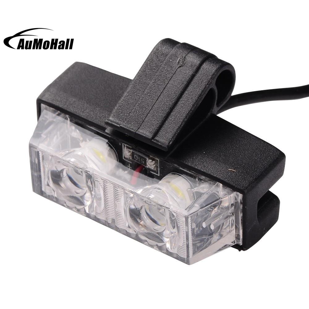 1 Kit LED White Car Truck Wireless Strobe Emergency Warning <font><b>Light</b></font> Bars Deck Dash Grill Remote Control