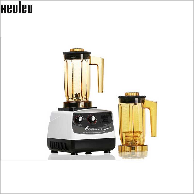 Xeoleo Professionale Schiuma di Latte Macchina 1200 W 2HP Taiwan Frullatori Teapresso Macchina 1.2L di Fermentazione del Tè Macchina CE/ETL Mixer