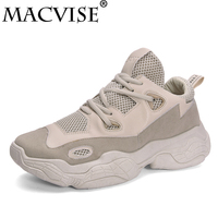 Macvise Men High Fashion Sneakers Breathable Sport Shoes Basket Trainers Casual Shoes Jogging Anti Slip Footwear Kanye