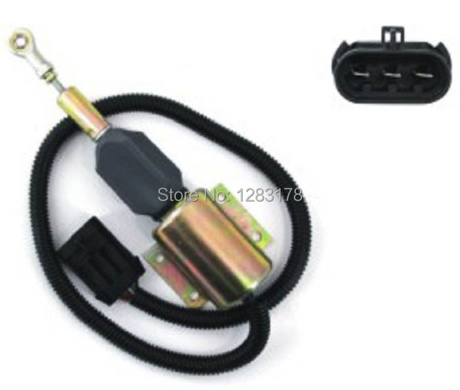 ФОТО NEW Shutdown Shut Off Stop Solenoid 3990771 SA-4931-24 24V SYNCRO-START