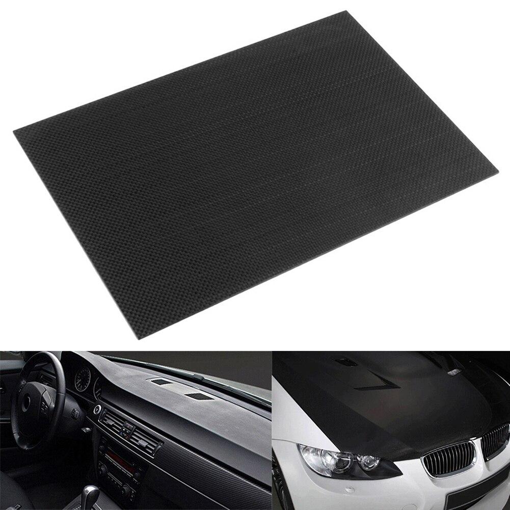 1pc Full Carbon Fiber Board High Strength RC Carbon Fiber Plate Panel Sheet 3K Plain Weave 7.87X7.87X0.06 Balck Glossy Matte tator rc 3k carbon fiber plate 3 5mm tl2900