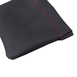 Image 2 - kebidumei Earphone Bag Senfer PU Leather Earphone Case Headset Carrying Pouch Store Headphone Package Headset Accessorie