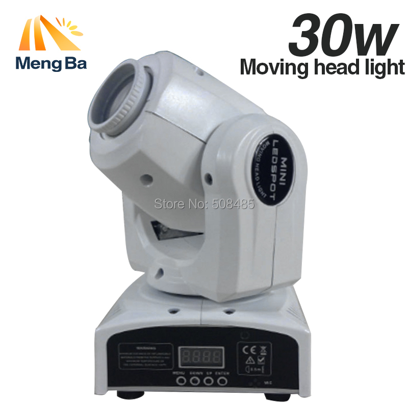 New 30W Spot Gobo moving head light dmx controller led stage lighting disco DJ wedding christmas decorations stage light par led 4pcs lot 30w led gobo moving head light led spot light ktv disco dj lighting dmx512 stage effect lights 30w led patterns lamp