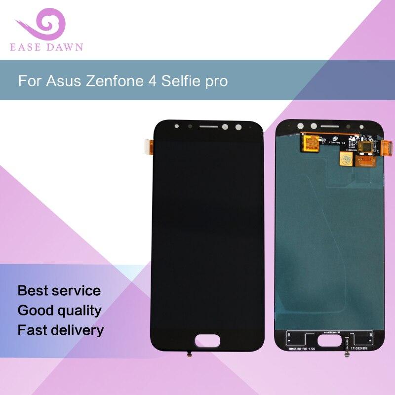 Para ASUS ZenFone 4 Selfie Pro ZD552KL Z01MD LCD amoled tela OLED Visor Do Painel de Toque Digitador Assembléia Para Asus Originais