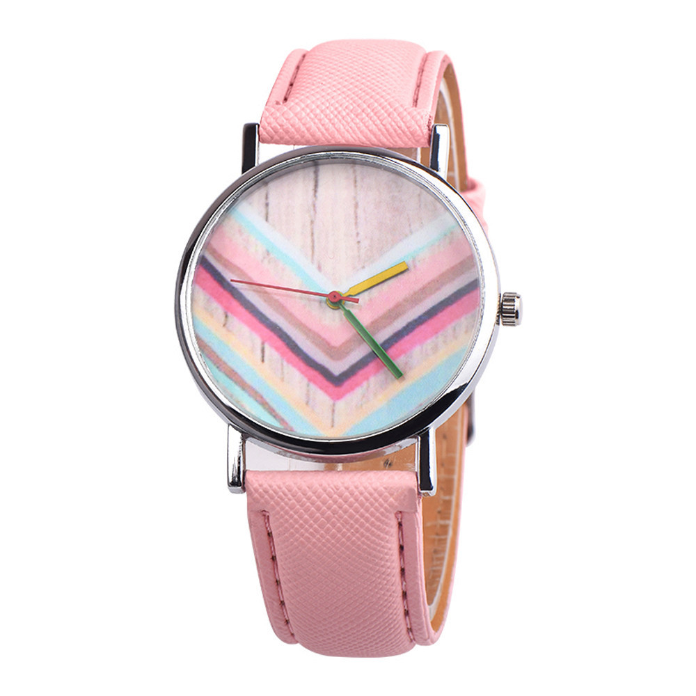 New Vogue Cute Girls Womens Colorful Casual Alloy Analog Quartz Watch Ladies Fashional Fantastic Canvas Band Bracelet Reloj A70