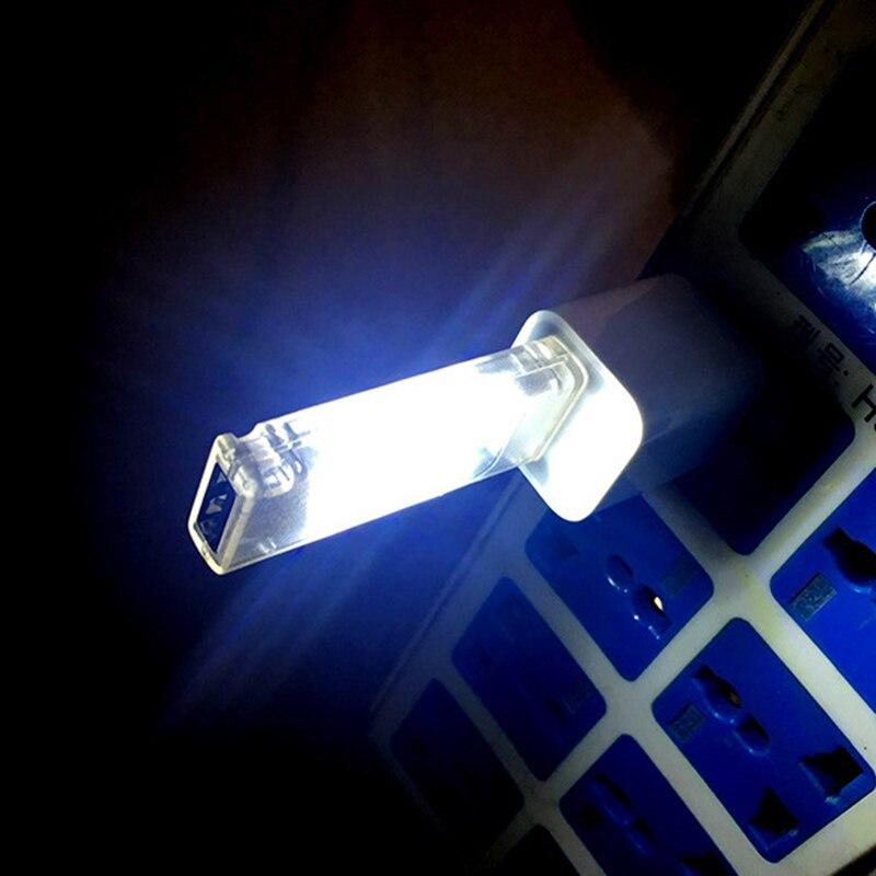 New Mini USB Led Night Light Camping lamp double sided 12 leds USB Charging Reading light Computer Laptop desk LED lamp P25