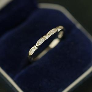 Korean Fashion Cut Fine Ring w