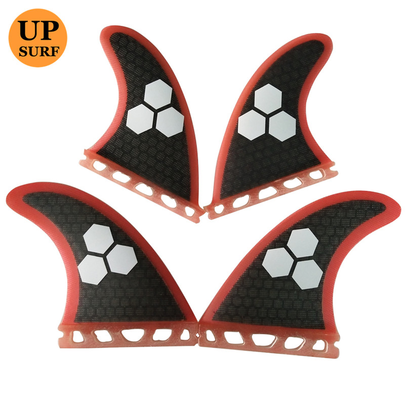 Surfboard fin Future G5+K2.1 Fin Honeycomb Surf Quad Fins in Surfing Surfboard Fin Quilhas Free Shipping