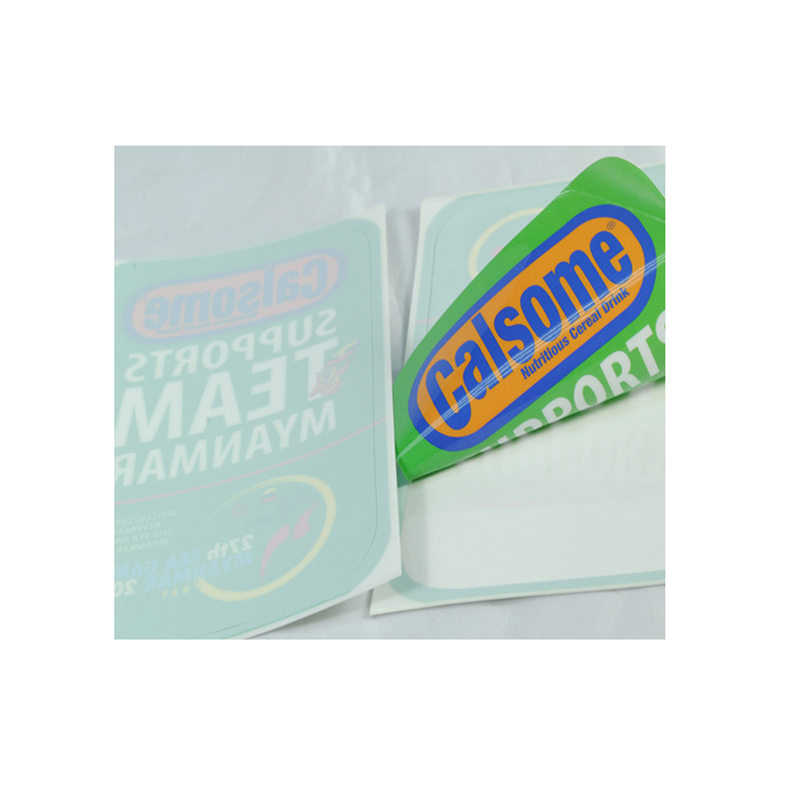 Customized Self Adhesive Stickers Vinyl Labels, High
