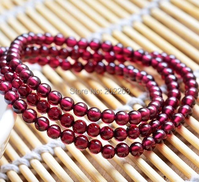4mm Natural Garnet Round Beads Bracelet,Fashion Garnet Jewelry Bracelet все цены