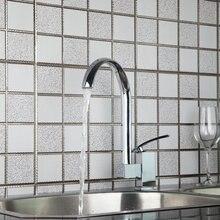 Ouboni кухня смесители torneira 2015 горячая/холодной поворотный 360 Chrome 97147 умывальник водопроводной воды судно туалете краны, смесители и краны