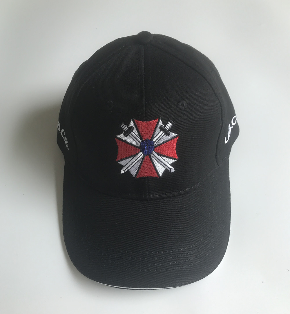 Hat Biohazard Symbol Embroidered Baseball Cap Available in 7 Colors