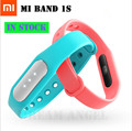 Original Xiaomi Mi Band 1S pulse miband fitness tracker heart rate IP67 Smart Bluetooth 4.0 Wristband Bracelet Sleep Monitor