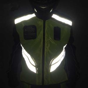 Image 3 - Rding Reflecterende Vest MOTO Vest Non mouwen Kleding Motocross Off Road Racing Vest Motorfiets Touring Night Riding Jassen