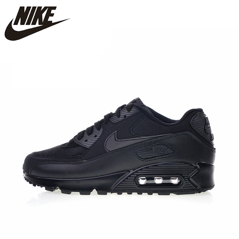 4e4d962d43f Original Authentic Nike Air Max 90 Essential Men s Running Shoes Sport  Outdoor Breathable Sneakers 2018 New