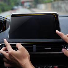 8 pulgadas de pantalla Protector para Peugeot 3008 Peugeot 5008 3008GT 4008, 2017-2018 GPS para coche de navegación de cristal templado de película protectora de pantalla