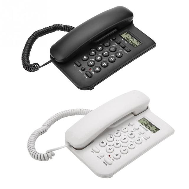 Home Hotel Wired Desktop Wall Phone Office Landline Telephone  2019