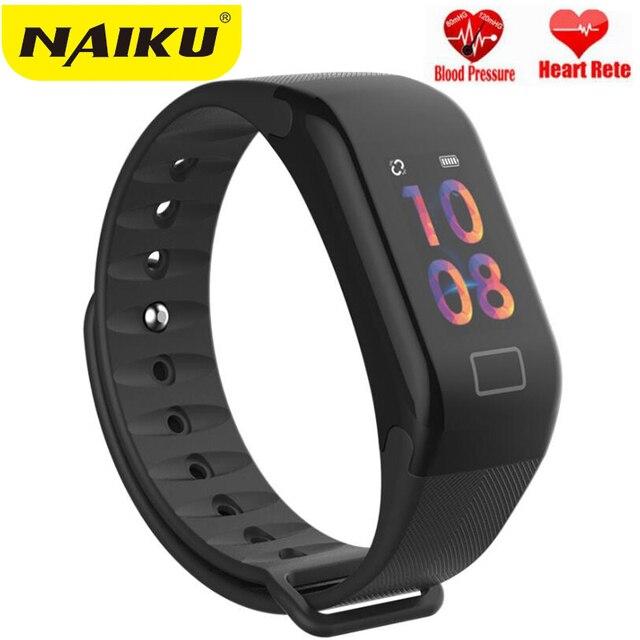 F1 Plus Color Lcd Screen Fitness Tracker Sleep Smart Bracelet Heart Rate Monitor Waterproof
