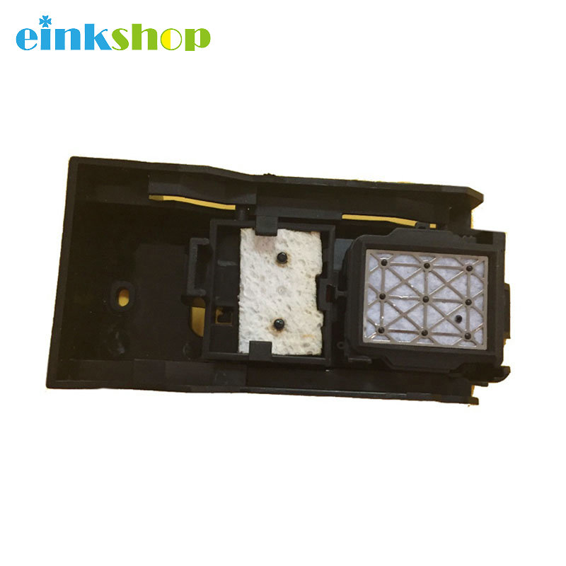 einkshop DX5 Printhead Ink Cap Station Assembly For Mimaki JV33 JV5 CJV30 Capping station DX5 head Cleaning Capping station dx7 dx5 printhead cap top mimaki jv33 jv5 cjv30 mutoh vj1304 vj1204 vj1604 printer dx5 dx7 head capping top