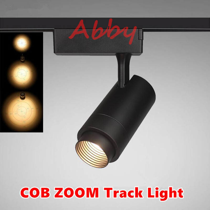 industrial track lighting industrial track lighting zoom. Theater Stage ZOOM Spotlights LED Projection In Out Adjustable Focus Track Lights Industrial Logo Lighting Lamp-in From Zoom N