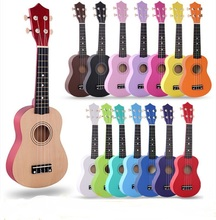 21 Soprano Ukulele Basswood Nylon 4 Strings Guitarra Acoustic Bass Guitar Musical Stringed Instrument for Beginners kid Gifts zebra 6 strings 38 inch folk acoustic electric bass guitar guitarra ukulele with case box for musical stringed instrument lover