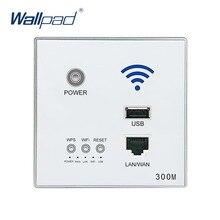 300 М Стены Embedded Wireless WIFI ТОЧКИ ДОСТУПА Маршрутизатора USB Розетка Зарядное Устройство Wi-Fi Умный Гнездо Электрический USB Розетки