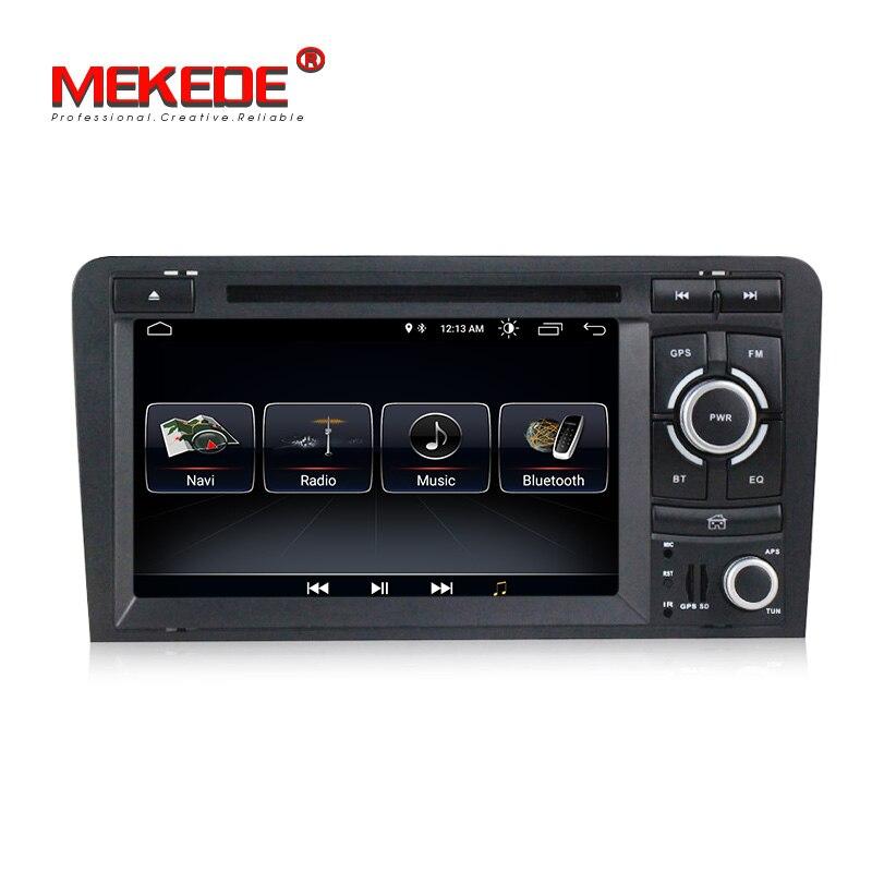 Android 8,0 автомобиль dvd cd мультимедийный плеер с gps навигационная система для Audi A3 S3 Audi A3 S3 2003 2011 поддержки SWC wifi BT FM