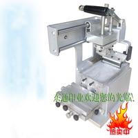 1pc JYS100-150 Manual Pad printing machine start up kits: Pad printer + rubber pads + 2 custom plate dies