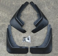 For KIA K2 2011 2012 2013 New Black Stylish Mud Flaps Splash Guard Mudguard Mudflaps Fenders