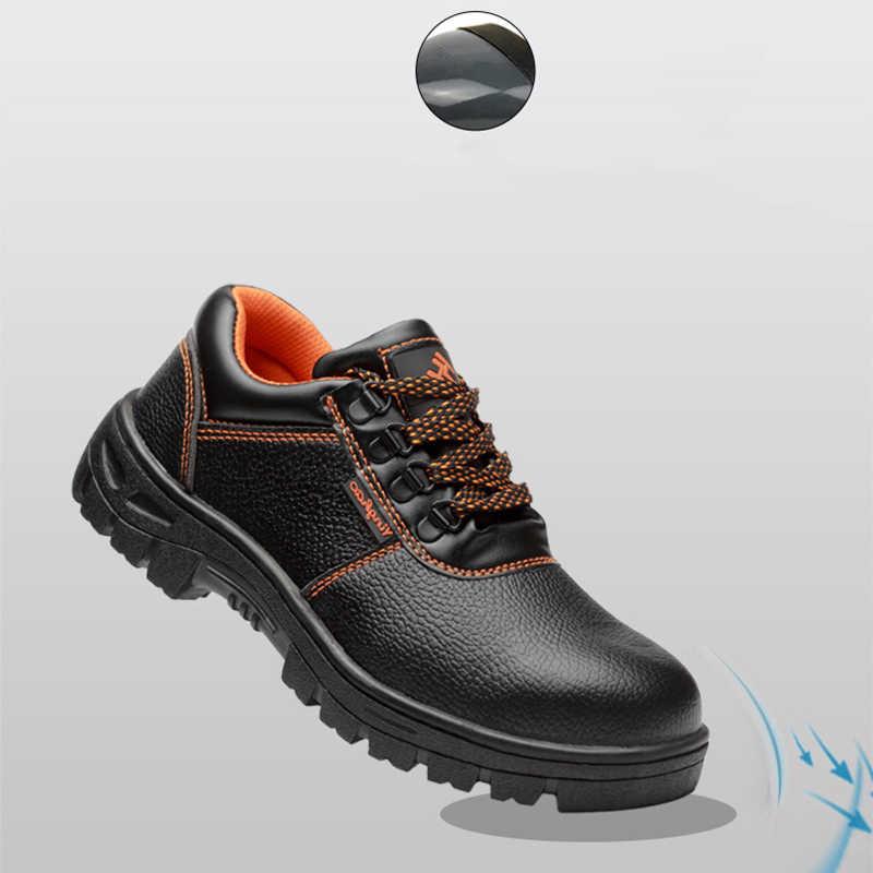 AC13007 Outdoor Anti-slip Stahl Punktion Beweis Bau Sicherheit Stiefel Schuhe Sicherheit Schuhe Arbeits Schuh Spitze Edelstahl Frau