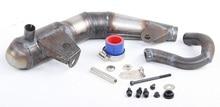 Baja Silent silencer exhaust pipe For LOSI 5T HPI Ravan KM 87068