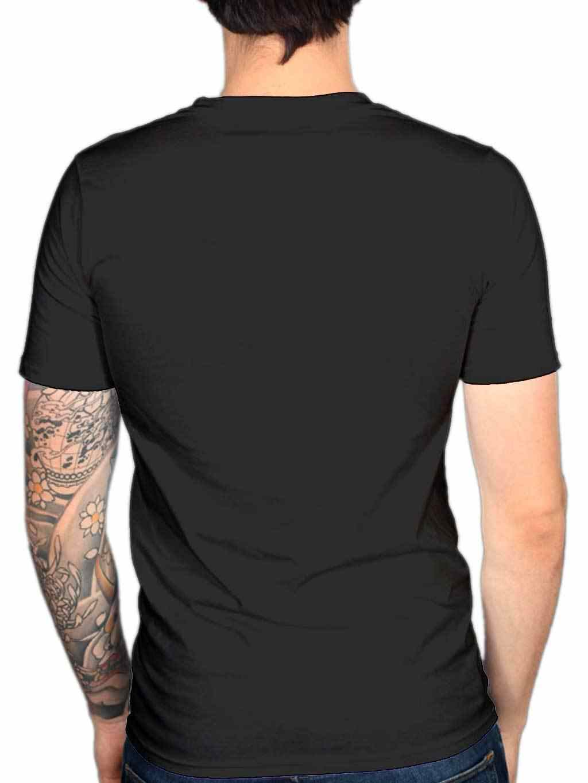 Кровавый вампир смерть связаны Для мужчин футболка гот панк эмо Костюмы ужас Хэллоуин Прохладный Повседневное гордость футболка Для мужчин Мужская мода