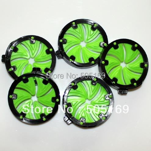 Accesorios de marcador de paintball Green Speed Feed (2 piezas) - Disparos - foto 3