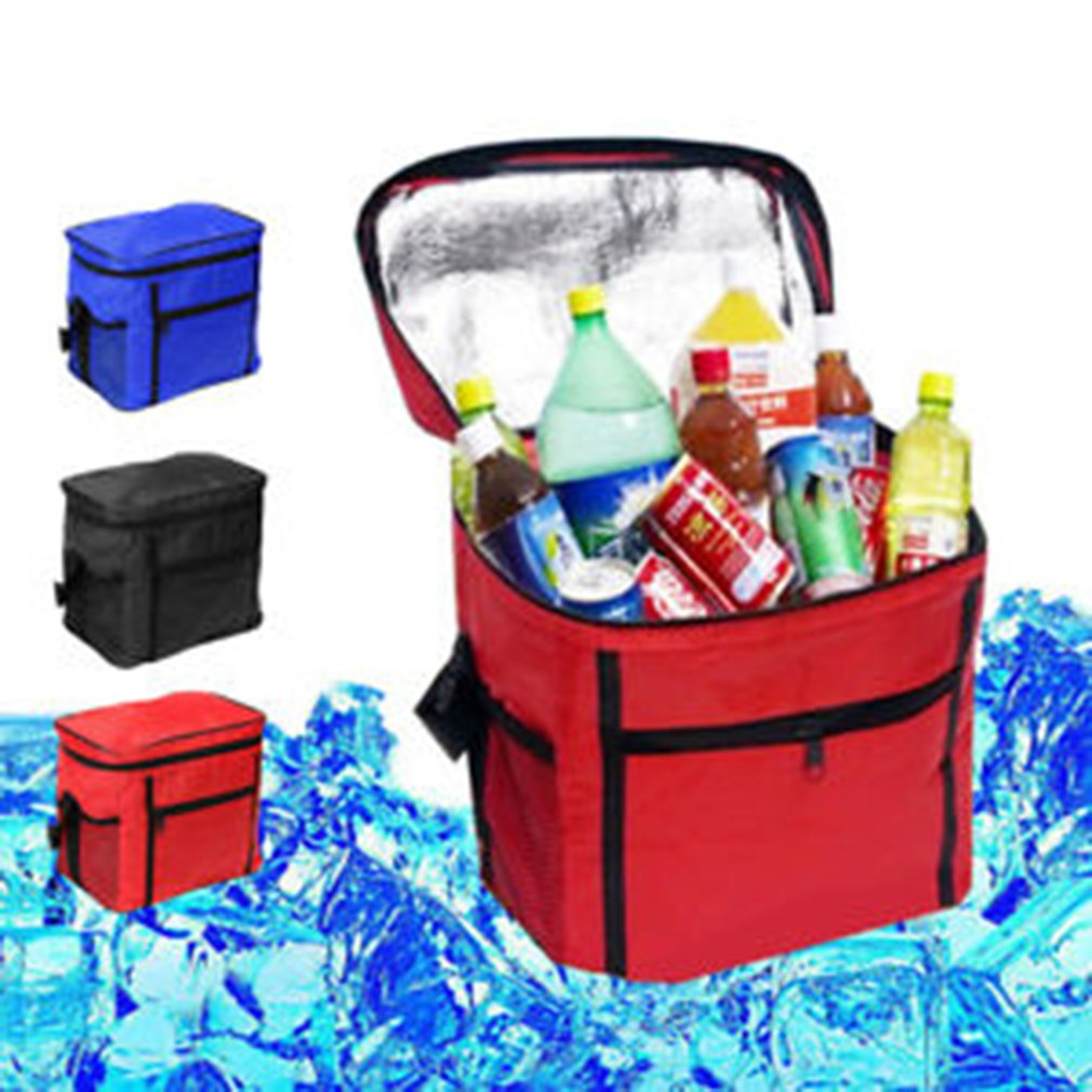 Image 5 - Portable Cooler Bag For Food Preservation Storage Picnic Thermal Insulation Bags Travel Nylon Women Lunch Bags-in Picnic Bags from Sports & Entertainment