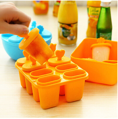 FG255 Creative hot summer cute ice holder ice cream tubs mould PP material 1pcs/lot wholesale