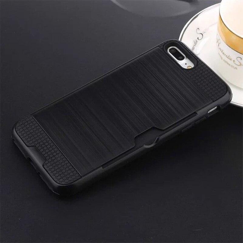 Funda de defensa combinada híbrida Karribeca para iphone 7 cubierta - Accesorios y repuestos para celulares - foto 4