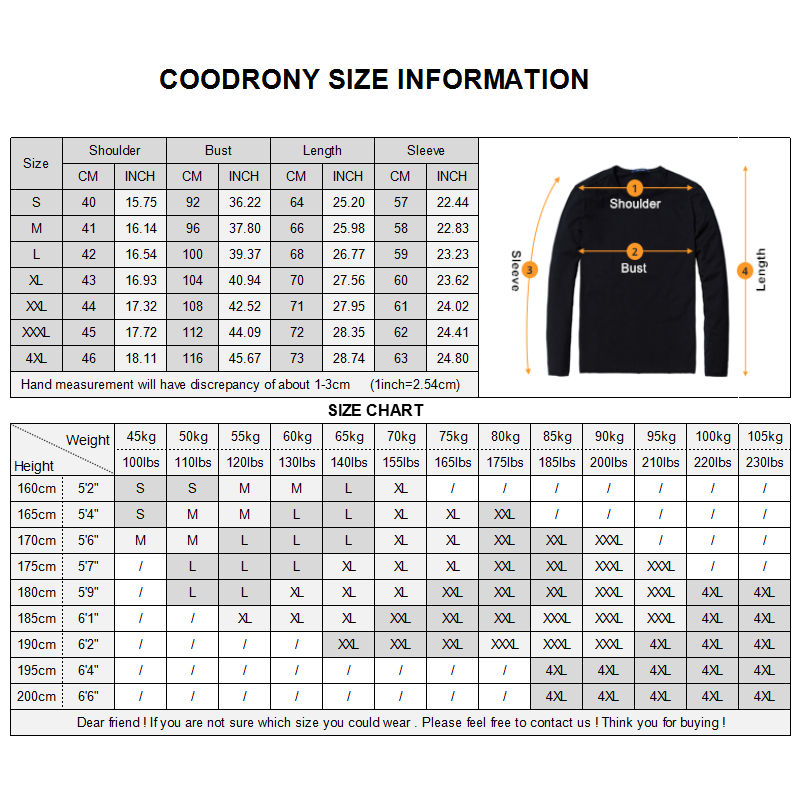 COODRONY Sweater Men Casual V-Neck Pullover Men Autumn Slim Fit Long Sleeve Shirt Mens Sweaters Knitted Cashmere Wool Pull Homme 4