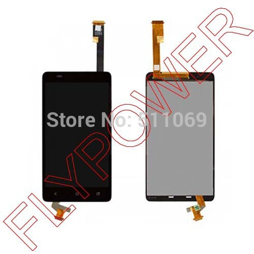 5pcs/lot for HTC Desire 400 LCD display screen with touch screen digitizer assembly by free shipping for htc desire 816g lcd screen display with touch screen digitizer assembly by free shipping 100