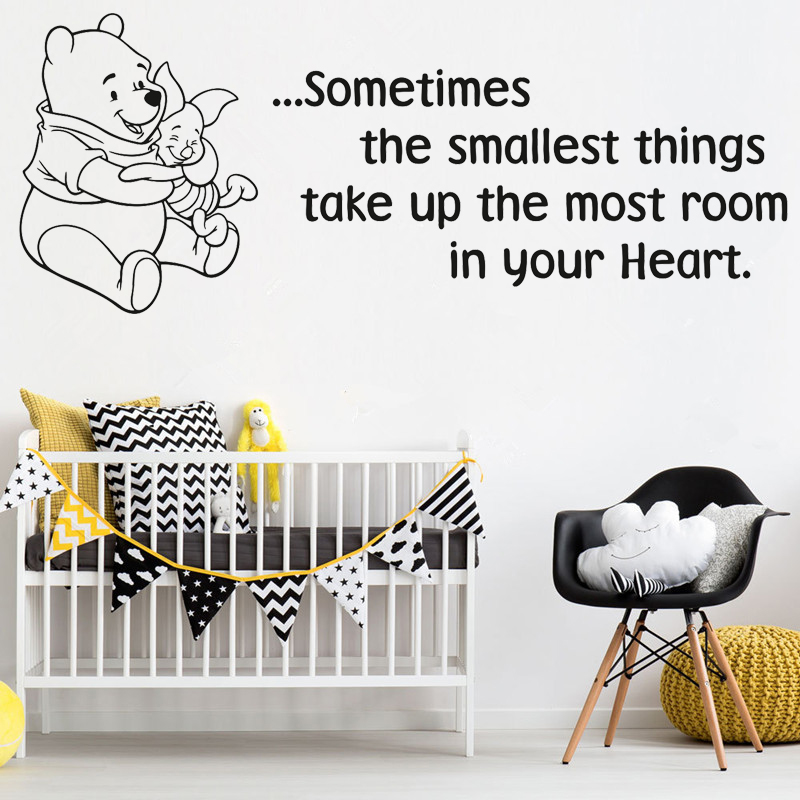 ...Sometimes Classic Winnie The Pooh Quote Wall Sticker