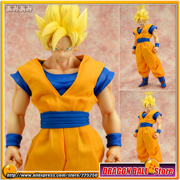 Anime Dragon Ball Z Original MegaHouse MH Dimension of DRAGONBALL / D.O.D Action Figure - Super Saiyan Son Gokou japanese anime one piece original megahouse mh variable action heroes complete action figure dracule mihawk