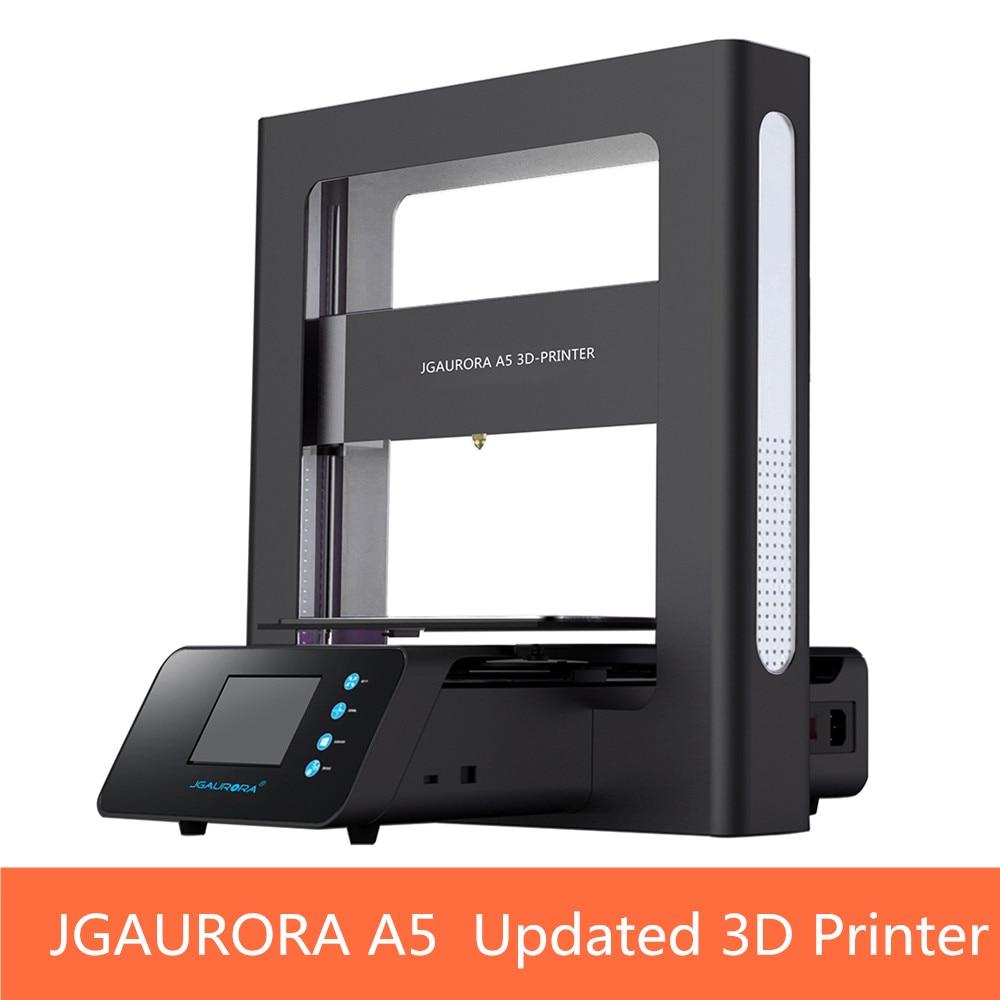 JGAURORA A5 Aggiornato Stampante 3D Schermo LCD Dispaly con Grande Area di Stampa Macchina da Stampa ABS PLA Supporto SD card