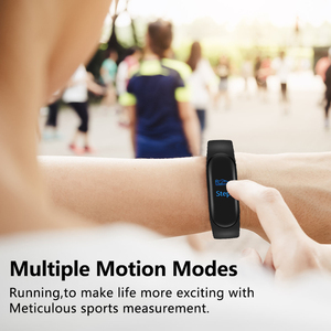Image 5 - M3 Smart Band Sport Bracelet Fitness Tracker reloj inteligente Wristband Monitor 0.96 inch Heart Rate Monitor Smart band