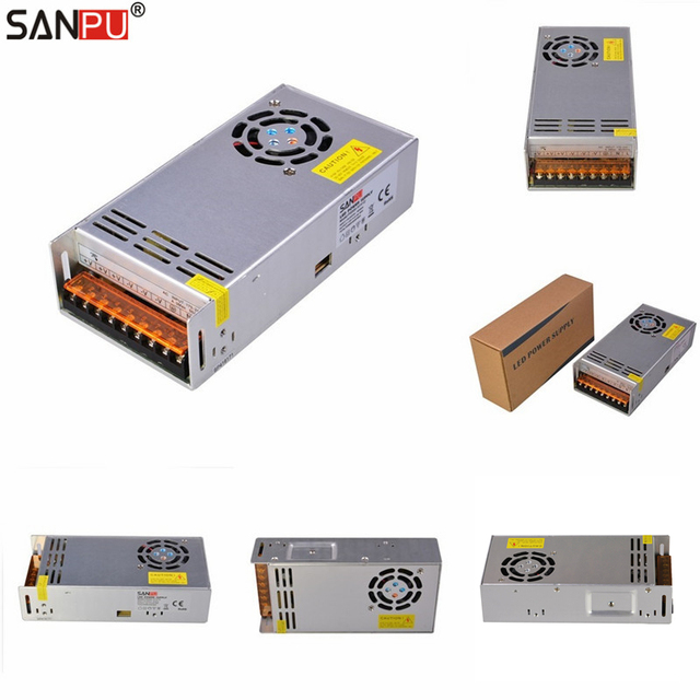 SANPU SMPS LED Power Supply 600W 12V 50A AC DC 220V 230V Switch ...